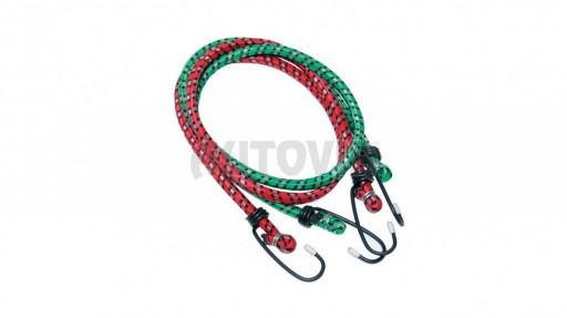 Gumové lano s háky 2m/2ks - poslední 1ks č.1