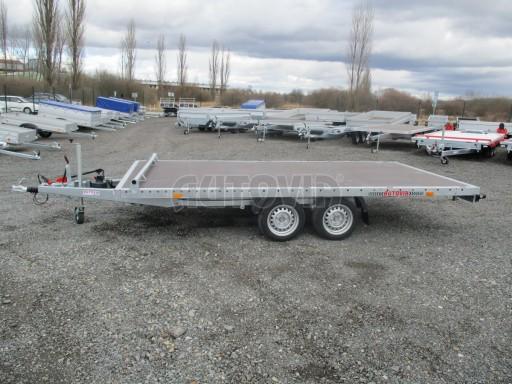 JMB 2,7T 4,20x2,10 hydraulicky sklopné plato** č.32