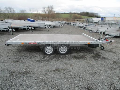 JMB 2,7T 4,20x2,10 hydraulicky sklopné plato** č.36