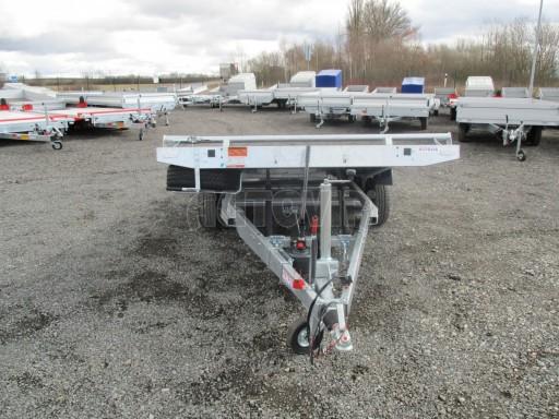 JMB 2,7T 4,20x2,10 hydraulicky sklopné plato** č.38