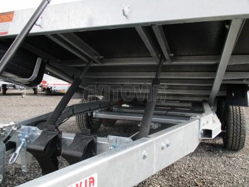 JMB 2,7T 4,20x2,10 hydraulicky sklopné plato** č.39