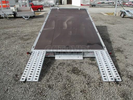 JMB 2,7T 4,20x2,10 hydraulicky sklopné plato** č.43