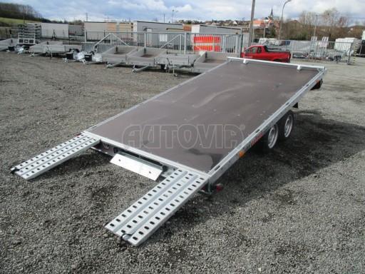 JMB 2,7T 4,20x2,10 hydraulicky sklopné plato** č.44