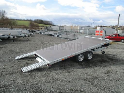 JMB 2,7T 4,20x2,10 hydraulicky sklopné plato** č.45