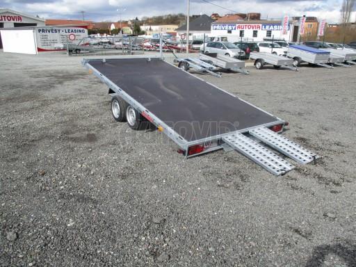 JMB 2,7T 4,20x2,10 hydraulicky sklopné plato** č.48
