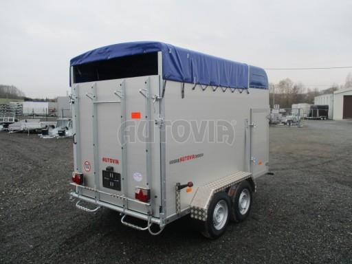 Přívěs pro přepravu zvířat VT 2,7T 3,05x1,71/1,90 č.7