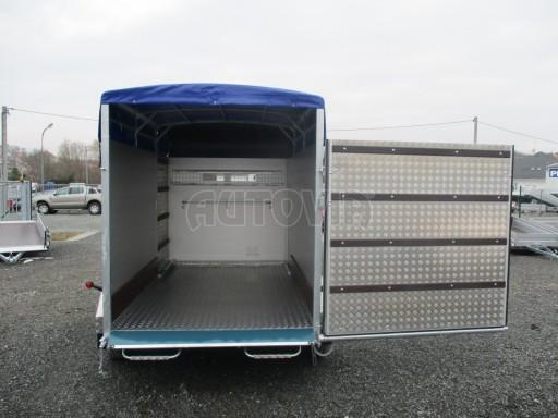 Přívěs pro přepravu zvířat VT 2,7T 3,05x1,71/1,90 č.17