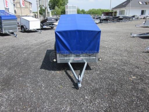 Celoplechový zinkovaný nákladní přívěs HD 3 750kg 2,05x1,09/0,88 č.3