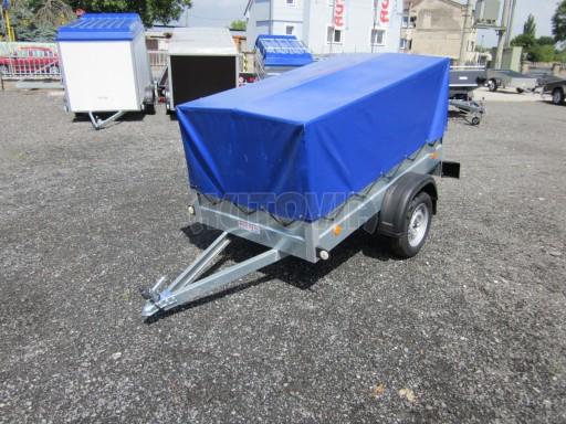 Celoplechový zinkovaný nákladní přívěs HD 3 750kg 2,05x1,09/0,88 č.4