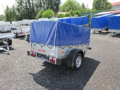 Celoplechový zinkovaný nákladní přívěs HD 3 750kg 2,05x1,09/0,88 č.7