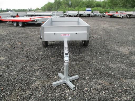 Nebrzděný přívěs - PZ LPA 750kg 2,01/1,07/0,30 ECO* č.2