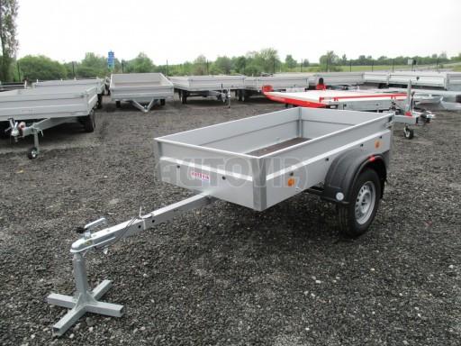 Nebrzděný přívěs - PZ LPA 750kg 2,01/1,07/0,30 ECO* č.1