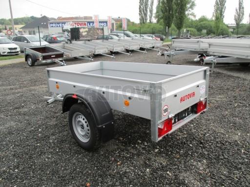 Nebrzděný přívěs - PZ LPA 750kg 2,01/1,07/0,30 ECO* č.4