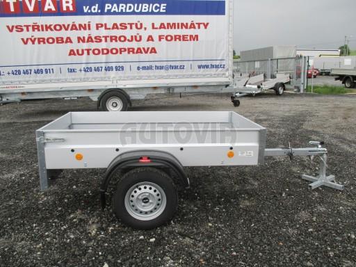 Nebrzděný přívěs - PZ LPA 750kg 2,01/1,07/0,30 ECO* č.7