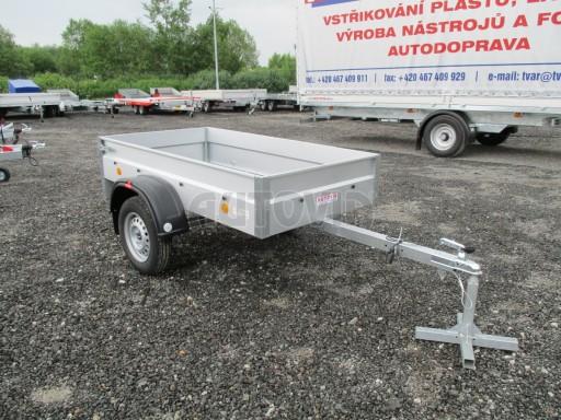 Nebrzděný přívěs - PZ LPA 750kg 2,01/1,07/0,30 ECO* č.8