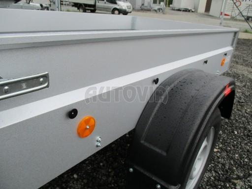 Nebrzděný přívěs - PZ LPA 750kg 2,01/1,07/0,30 ECO* č.10