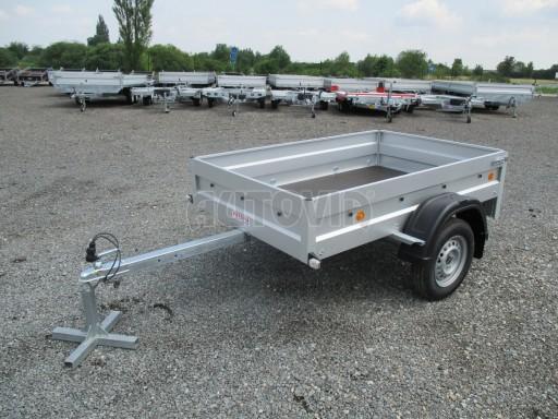 Nebrzděný přívěs - PZ LPA 750kg 2,06/1,25/0,35 č.1