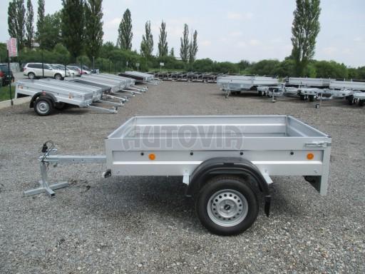 Nebrzděný přívěs - PZ LPA 750kg 2,06/1,25/0,35 č.3