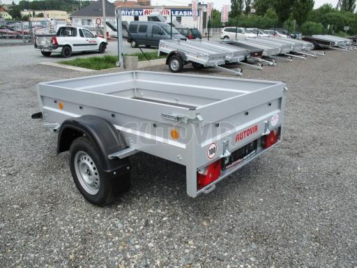 Nebrzděný přívěs - PZ LPA 750kg 2,06/1,25/0,35 č.4