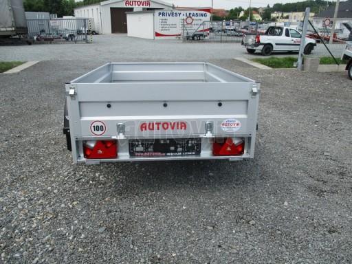 Nebrzděný přívěs - PZ LPA 750kg 2,06/1,25/0,35 č.5