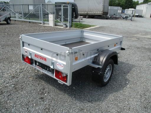Nebrzděný přívěs - PZ LPA 750kg 2,06/1,25/0,35 č.8