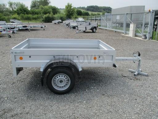 Nebrzděný přívěs - PZ LPA 750kg 2,06/1,25/0,35 č.9