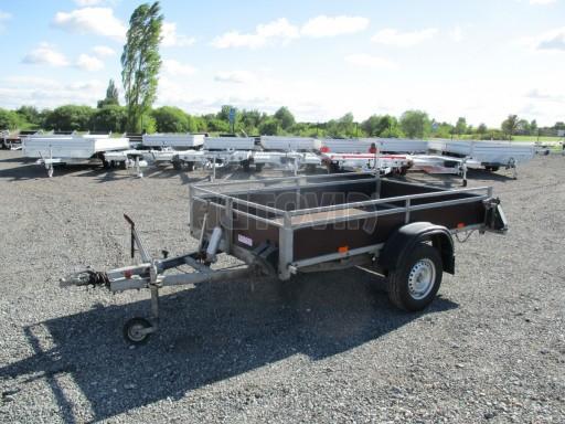 Bazarový přívěs za osobní auto sklopný DNG 1,3T 2,52x1,49/0,30 č.2