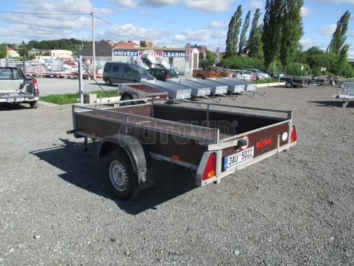 Bazarový přívěs za osobní auto sklopný DNG 1,3T 2,52x1,49/0,30 č.3