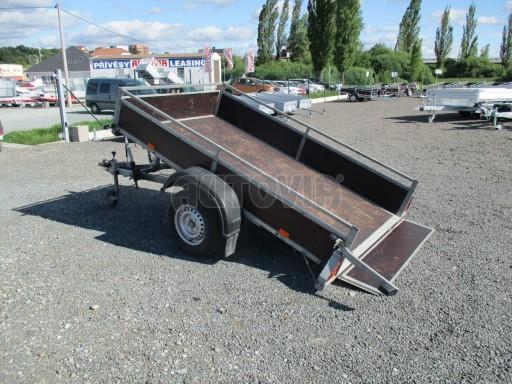 Bazarový přívěs za osobní auto sklopný DNG 1,3T 2,52x1,49/0,30 č.5