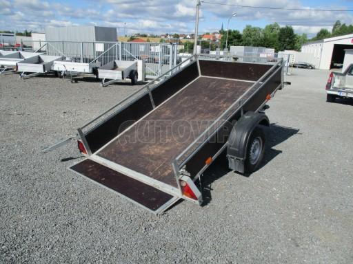 Bazarový přívěs za osobní auto sklopný DNG 1,3T 2,52x1,49/0,30 č.10