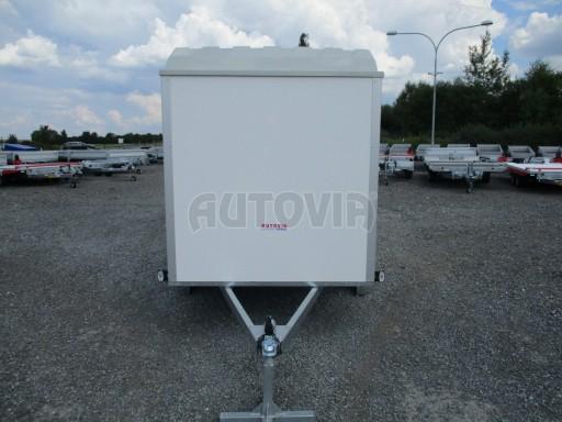 Skříňový přívěs - dvoukřídlé dveře ZV 27 N1 O 2,50x1,48/1,65** č.7