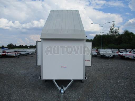 Skříňový přívěs - dvoukřídlé dveře ZV 27 N1 O 2,50x1,48/1,65** č.13
