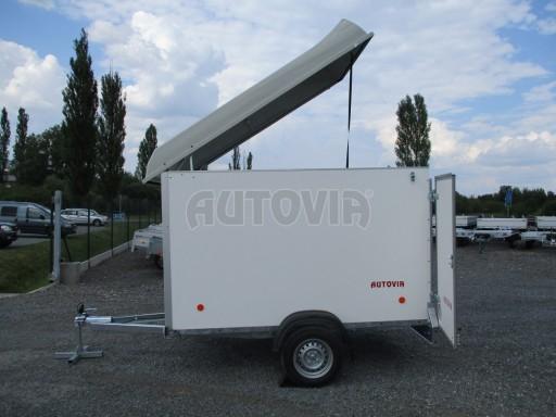 Skříňový přívěs - dvoukřídlé dveře ZV 27 N1 O 2,50x1,48/1,65** č.14