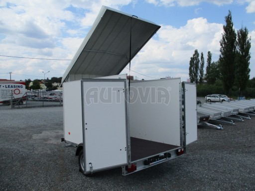 Skříňový přívěs - dvoukřídlé dveře ZV 27 N1 O 2,50x1,48/1,65** č.15