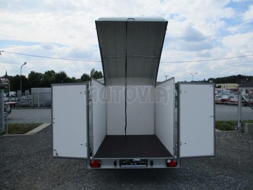 Skříňový přívěs - dvoukřídlé dveře ZV 27 N1 O 2,50x1,48/1,65** č.6
