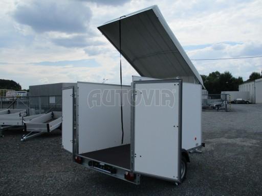 Skříňový přívěs - dvoukřídlé dveře ZV 27 N1 O 2,50x1,48/1,65** č.3