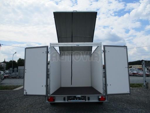 Skříňový přívěs - dvoukřídlé dveře ZV 27 N1 O 2,50x1,48/1,65** č.17