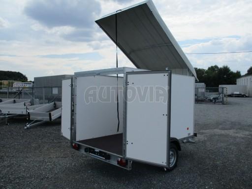 Skříňový přívěs - dvoukřídlé dveře ZV 27 N1 O 2,50x1,48/1,65** č.18