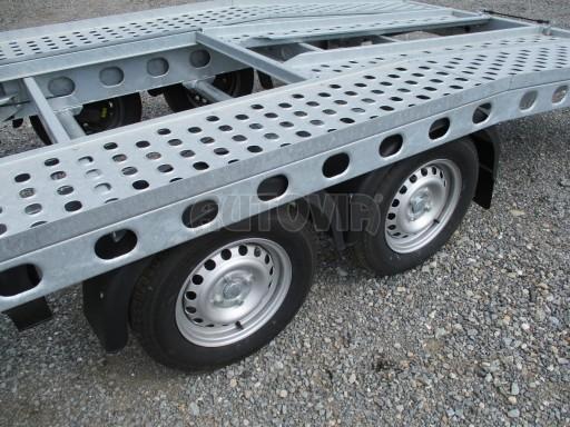 Bazarový přepravník automobilů PAV 2,0T 4,01x1,92 č.12