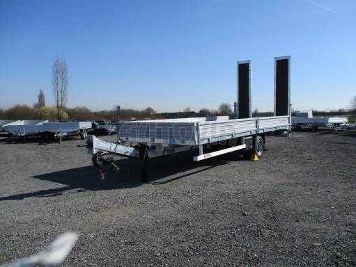 Vzduchem brzděný přepravník AVG 10T B1 7,40x2,48/0,40 č.1