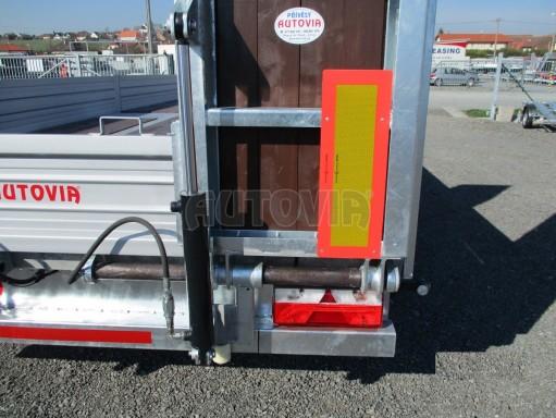 Vzduchem brzděný přepravník AVG 10T B1 7,40x2,48/0,40 č.22