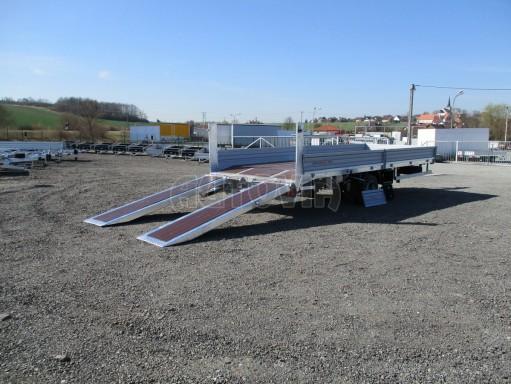 Vzduchem brzděný přepravník AVG 10T B1 7,40x2,48/0,40 č.31