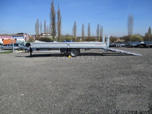 Vzduchem brzděný přepravník AVG 10T B1 7,40x2,48/0,40 č.34