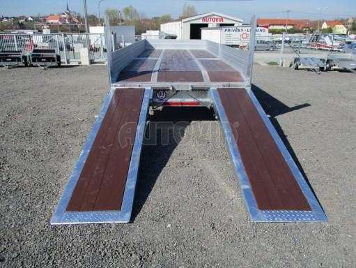 Vzduchem brzděný přepravník AVG 10T B1 7,40x2,48/0,40 č.35