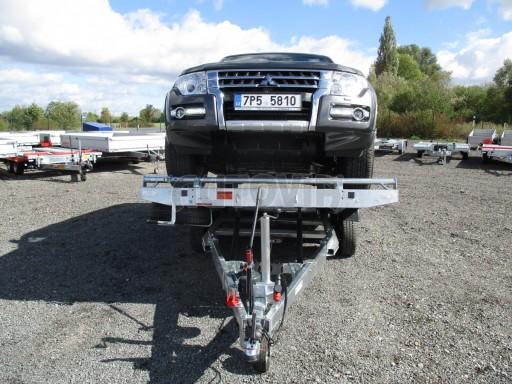 JMB 2,7T 4,20x2,10 hydraulicky sklopné plato** č.2