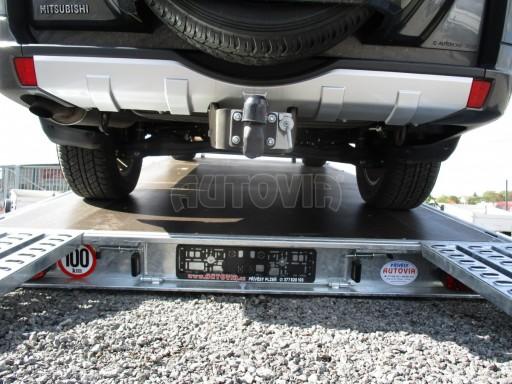 JMB 2,7T 4,20x2,10 hydraulicky sklopné plato** č.12