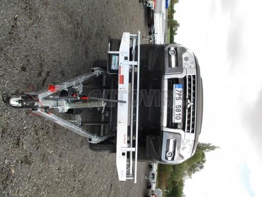 JMB 2,7T 4,20x2,10 hydraulicky sklopné plato**RE č.17