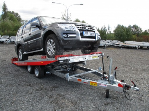 Přepravník automobilů IM 2,7T 5,01x2,09 ližiny č.32