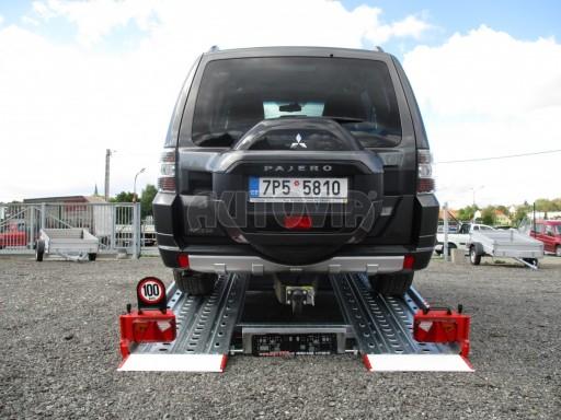 Přepravník automobilů IM 2,7T 5,01x2,09 ližiny č.36