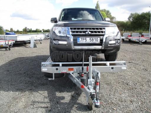 JMB 2,7T 4,20x2,10 hydraulicky sklopné plato** č.28